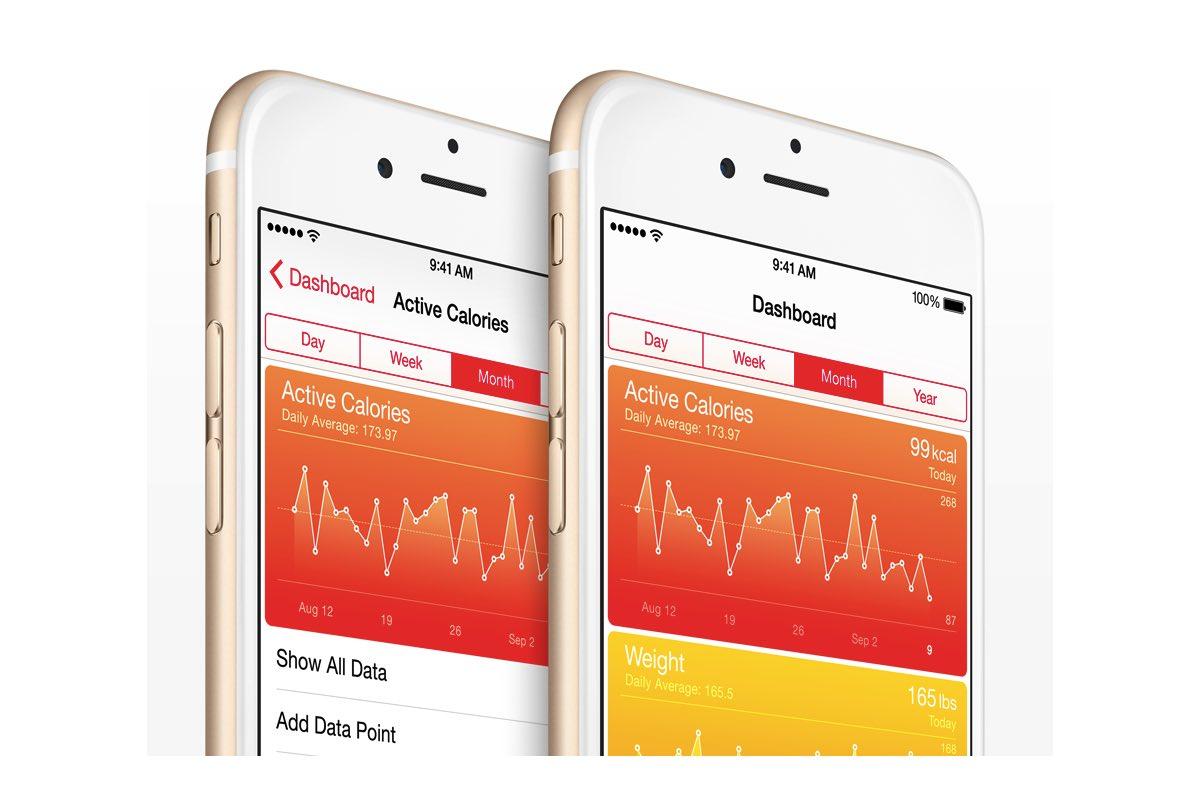 Data uit Fitbit importeren in de iOS Gezondheid-app