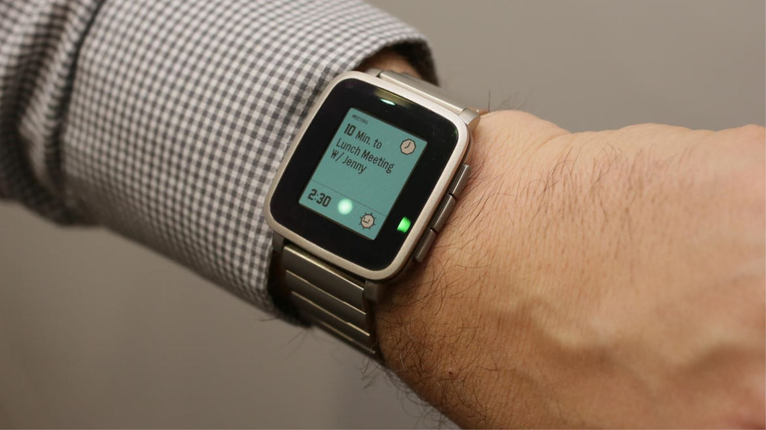 Pebble verbetert Health-platform en voegt sms-functie toe