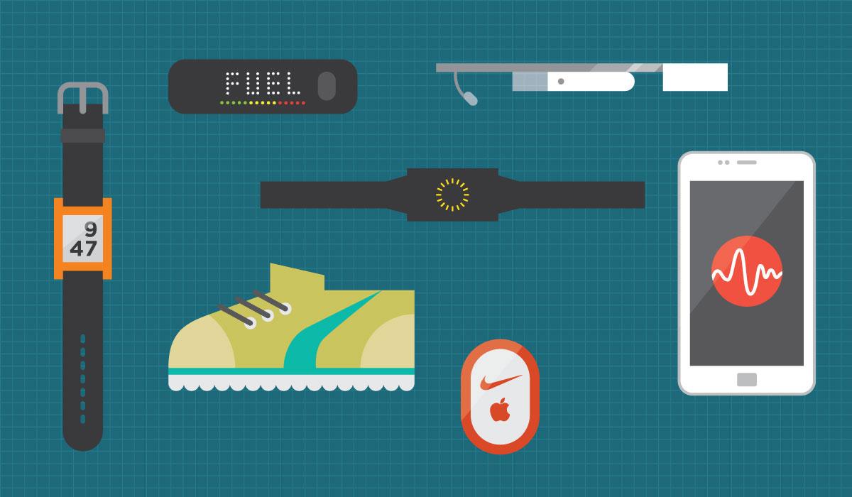 Fitnesstrackers nemen de leiding op de markt voor wearables
