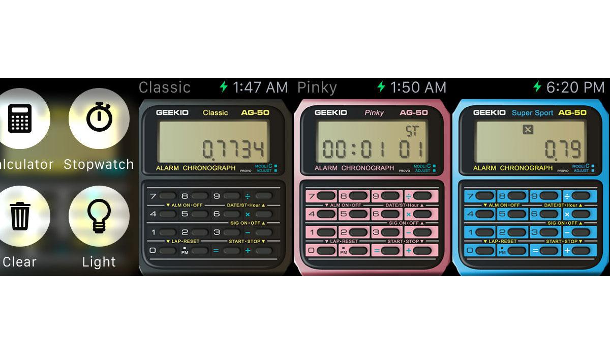 Breng de klassieke Casio-rekenmachine naar je Apple Watch