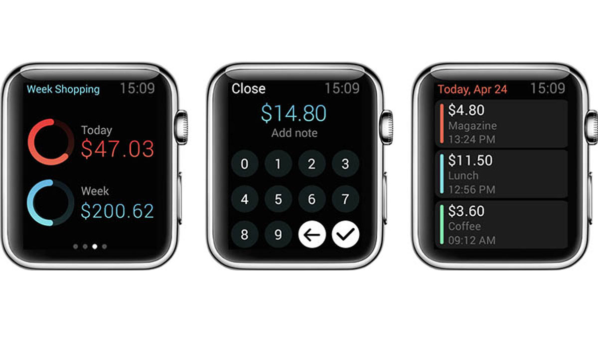 Pennies voor Apple Watch kan je helpen budgetteren
