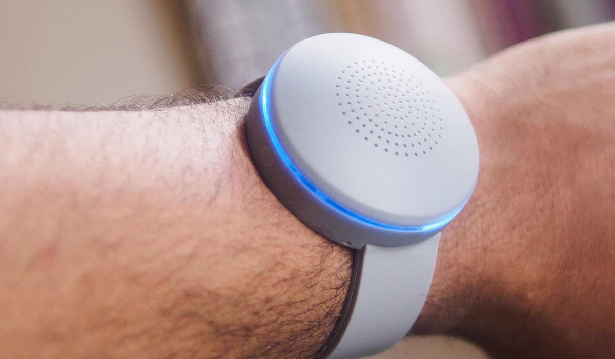 Bluetooth-speaker WristBoom draag je om je pols