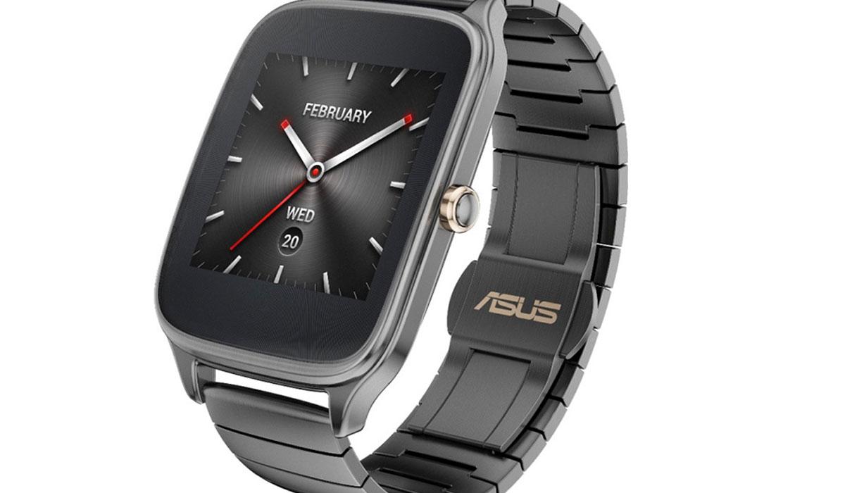 Asus kondigt ZenWatch 2 met metalen kroon aan