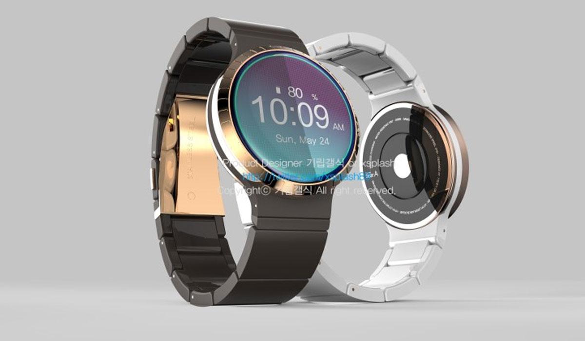 Samsung Gear A krijgt roterende ring rondom scherm