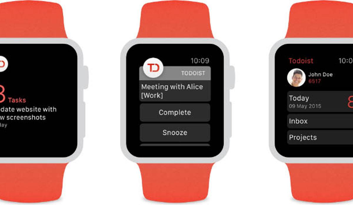 Todoist-app nu uit voor Apple Watch