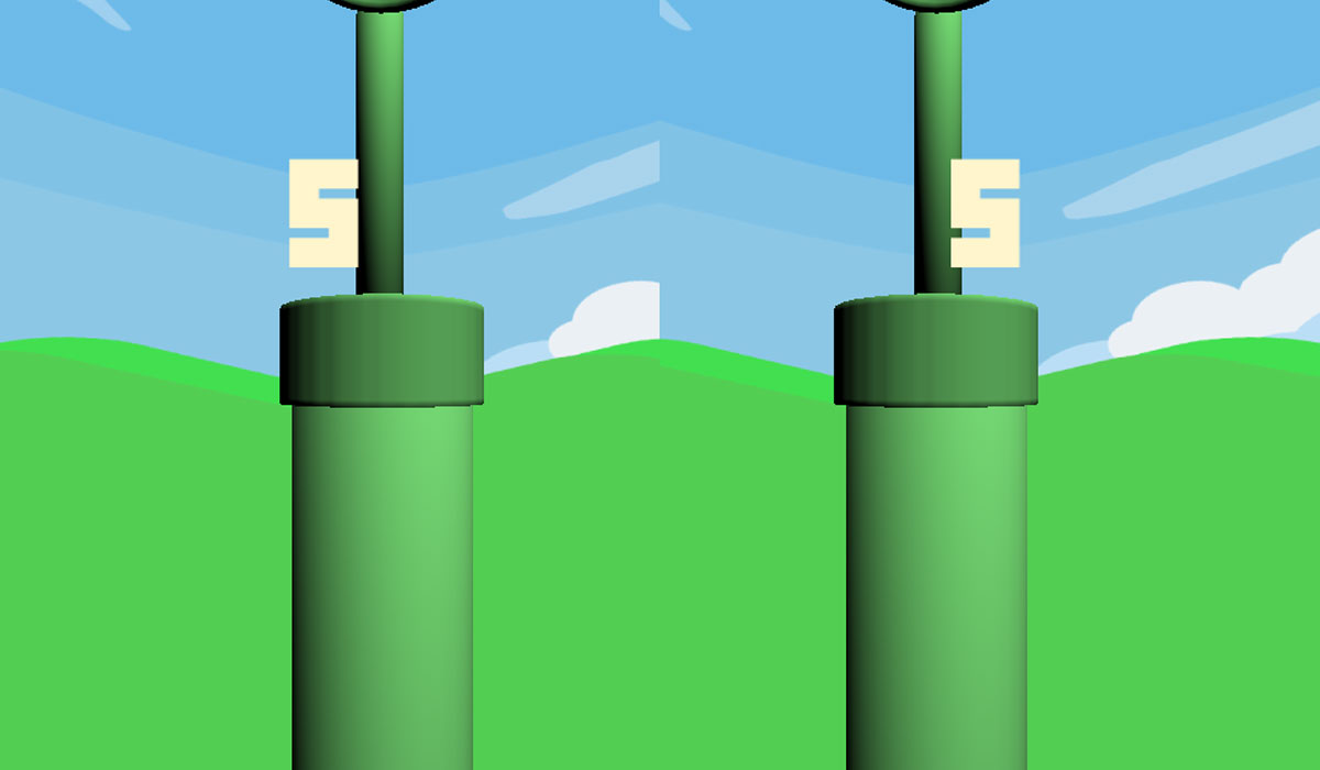 Flappy Bird nu ook in virtual reality te spelen