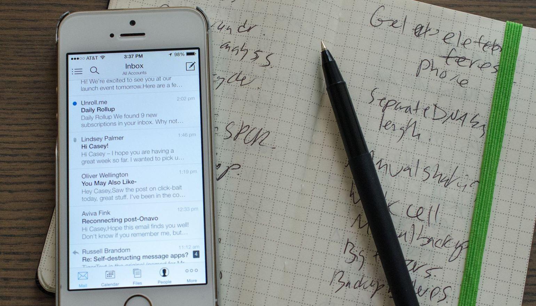 Outlook voor de iPhone ondersteunt nu ook de Apple Watch