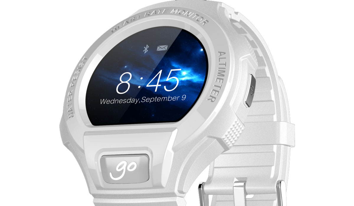 Alcatel Go Watch-smartwatch werkt met Android en iOS