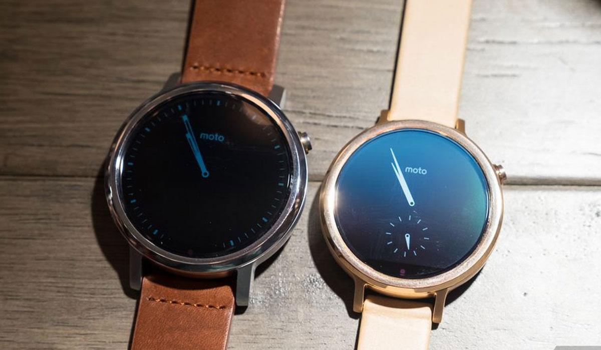 Drie nieuwe Moto 360-horloges aangekondigd