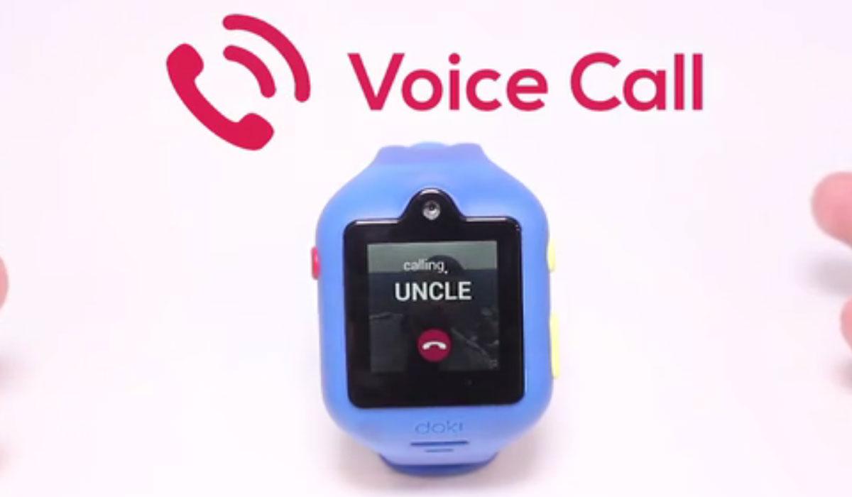 DokiWatch: smartwatch voor kinderen biedt bellen aan