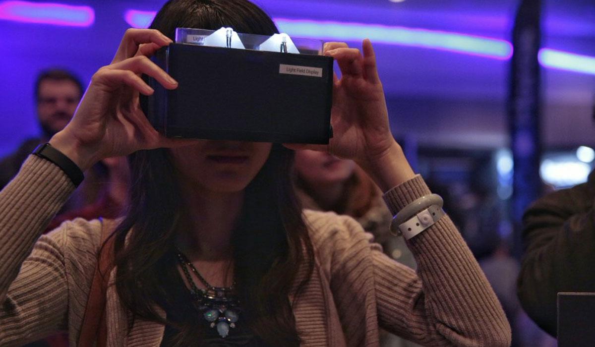 Light Field Display-vr-bril van Nvidia op vr-beurs gepresenteerd