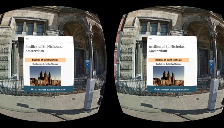 Streetview VR voor Samsung Gear VR uitgebracht