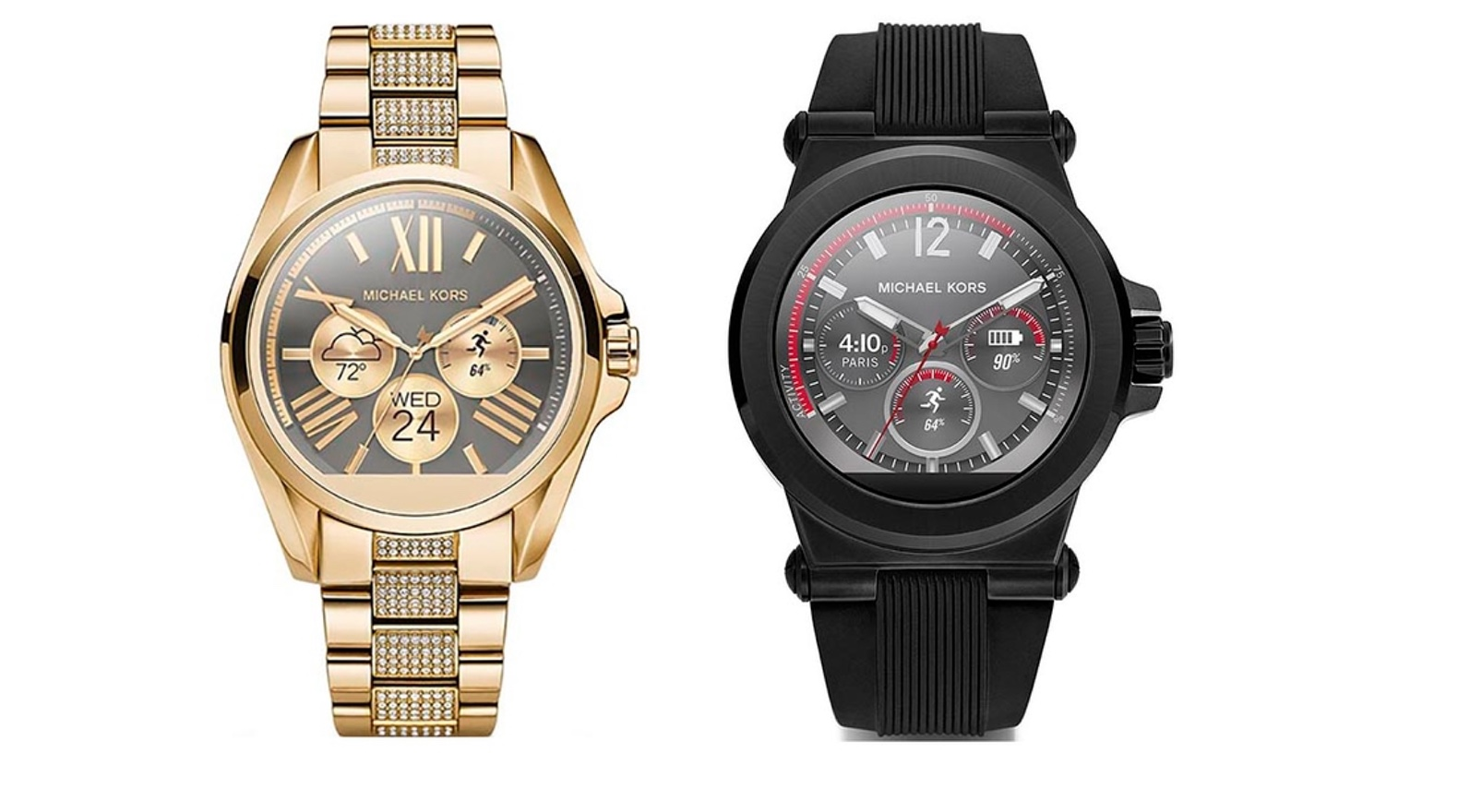 Michael Kors presenteert nieuwe smartwatches