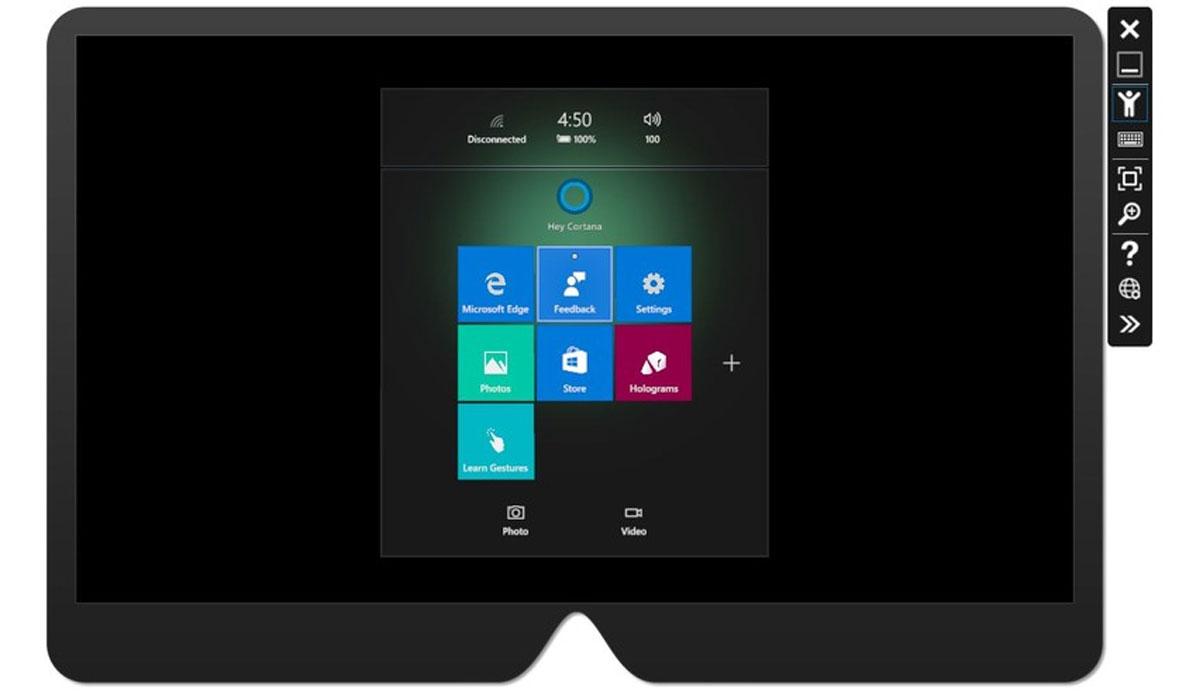 Microsoft brengt emulator voor HoloLens uit