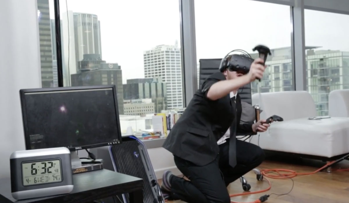 Man verblijft 25 uur in virtual reality, zet wereldrecord neer