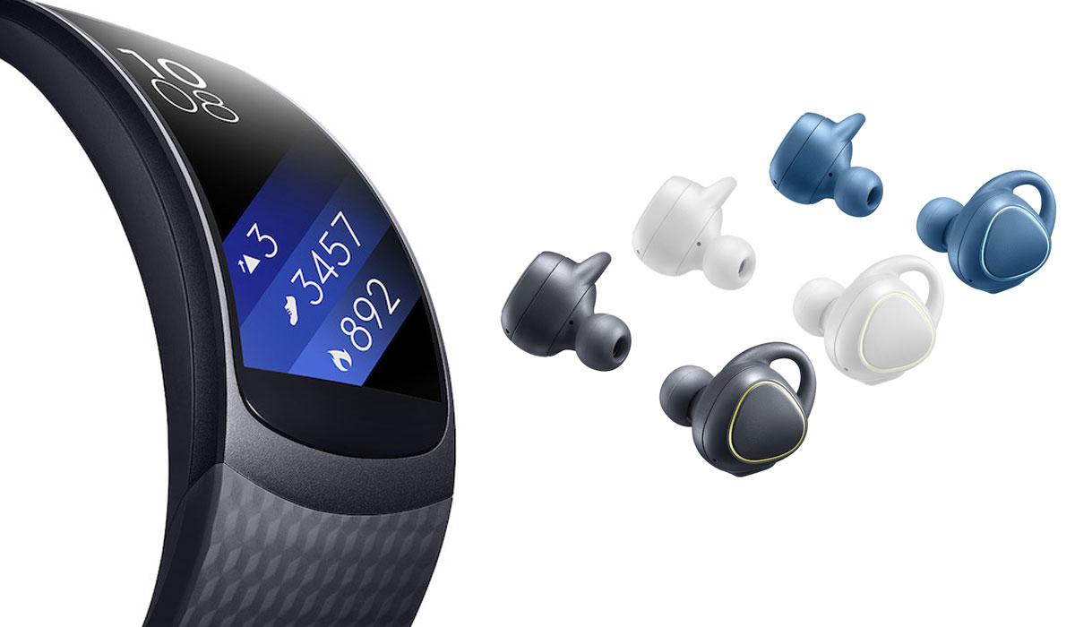Samsung kondigt Gear Fit2 en Gear IconX aan