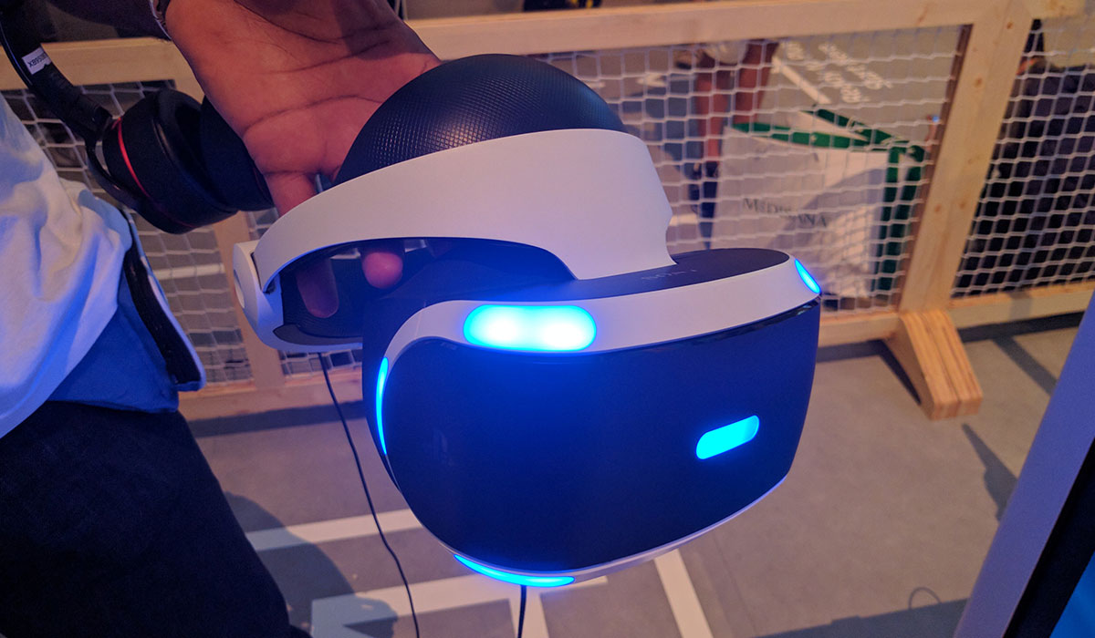 Hands-on met PlayStation VR: de virtual reality-bril voor de PS4