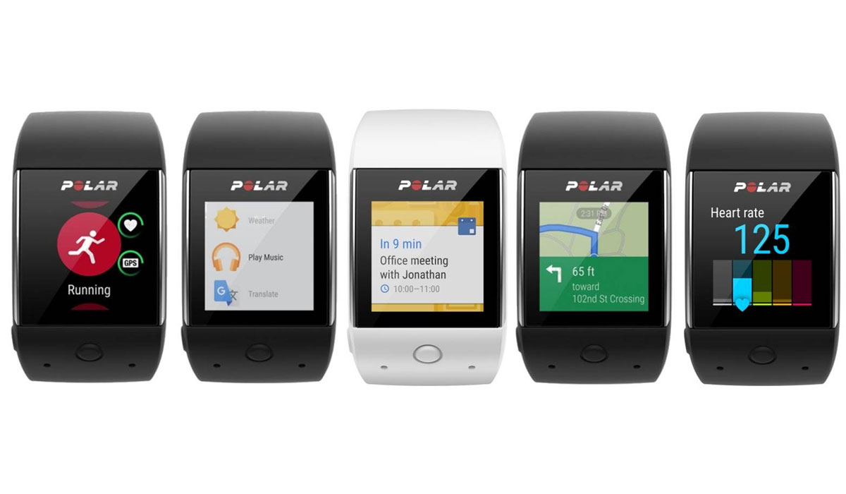 Polar introduceert Polar M600 sporthorloge met Android Wear