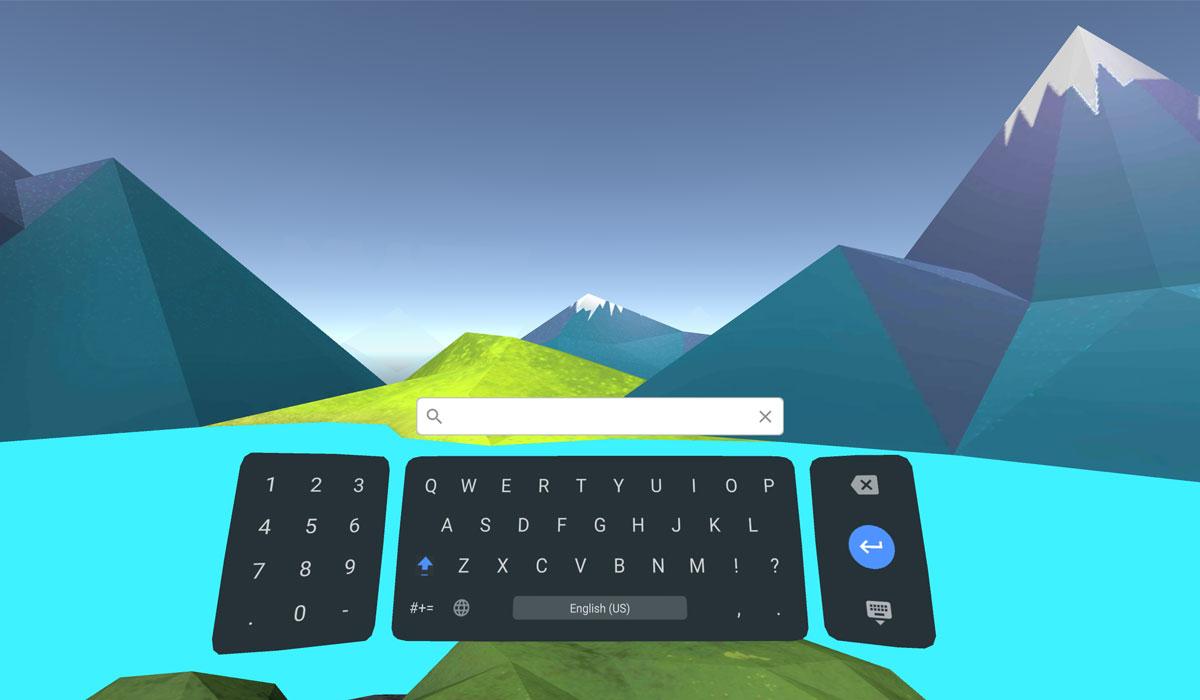Google brengt het Daydream Keyboard voor typen in virtual reality