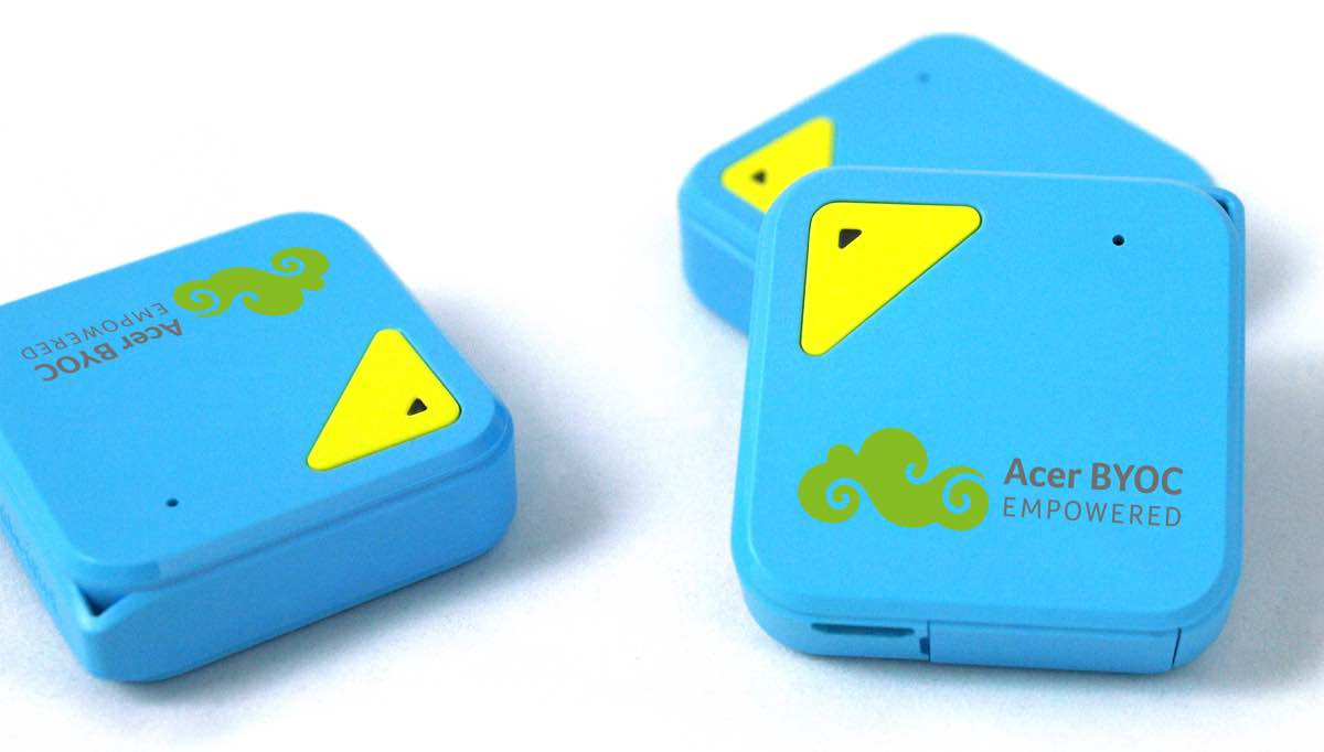 Circo S tracker van Acer vertelt je waar je huisdier of kind is