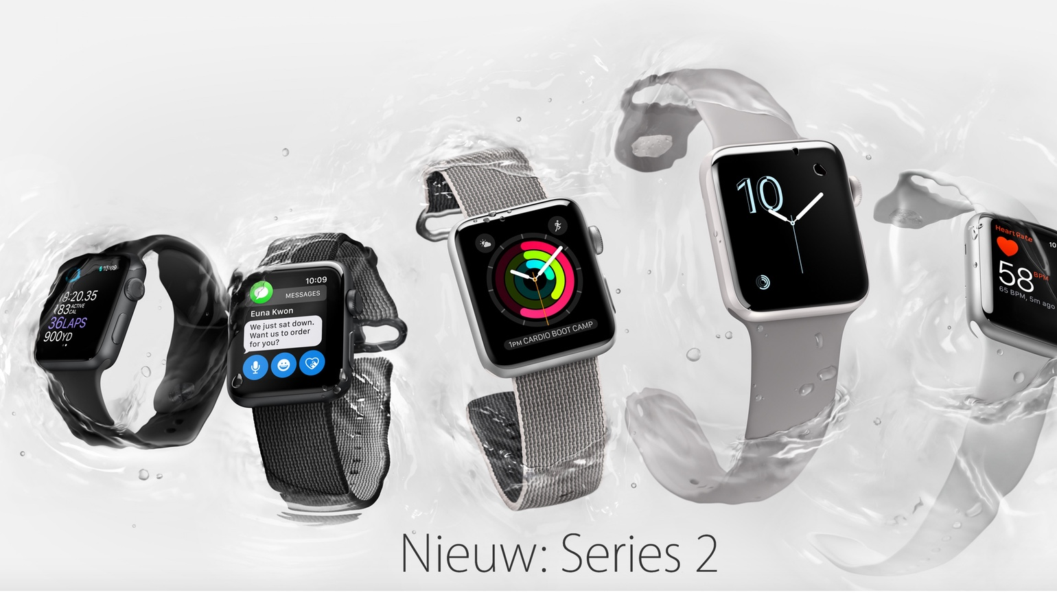 Apple geeft een update voor Apple Watch vrij: watchOS 3.1.3