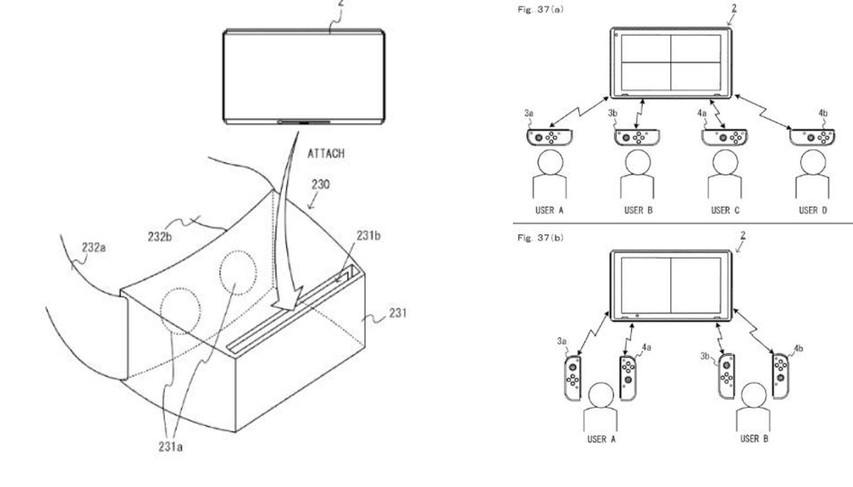 Patent Vitual Reality-bril Nintendo Switch uitgelekt