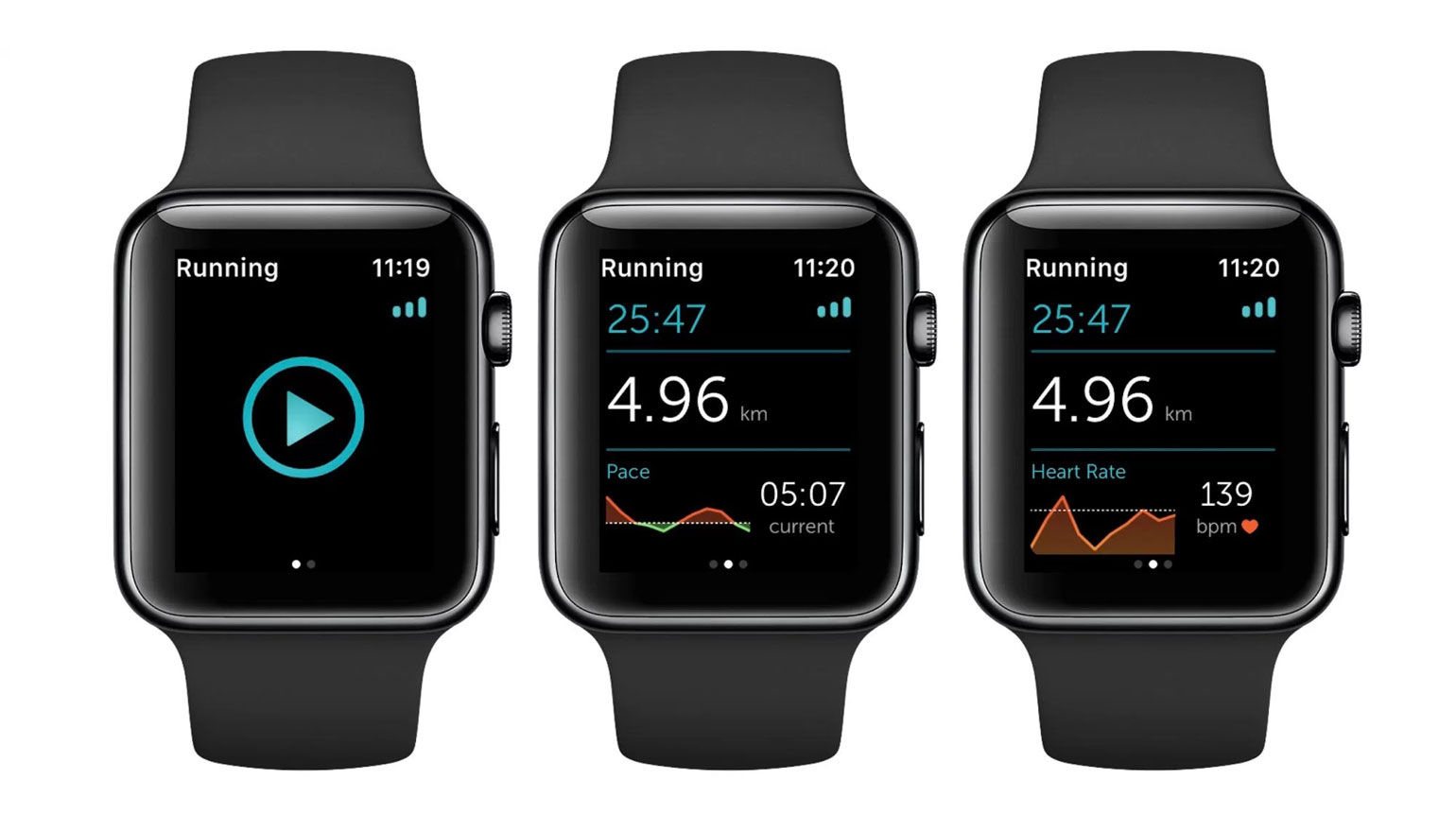 Runkeeper voor Apple Watch Series 2 trackt je workout zonder iPhone