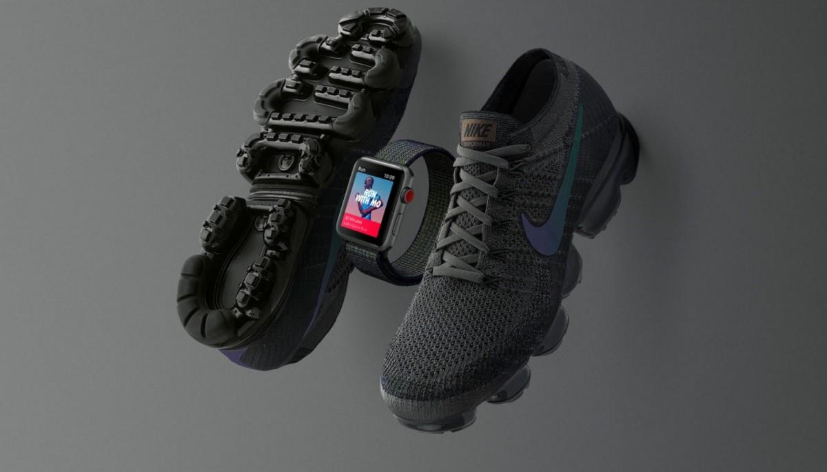 Nike maakt sportschoenen met bijbehorende Apple Watch 3