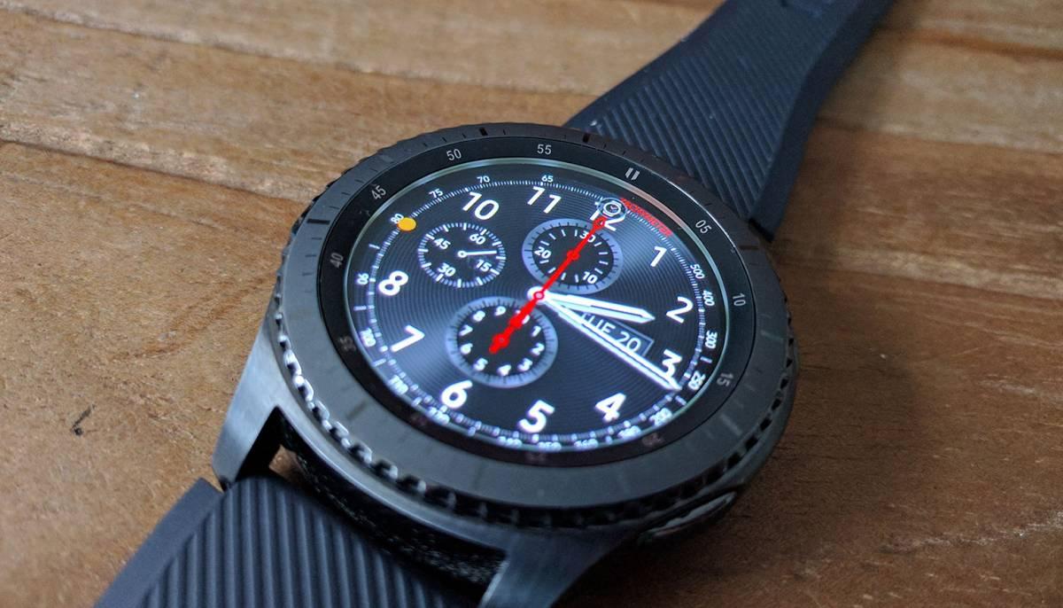'Samsung werkt achter de schermen aan Samsung Gear S4'
