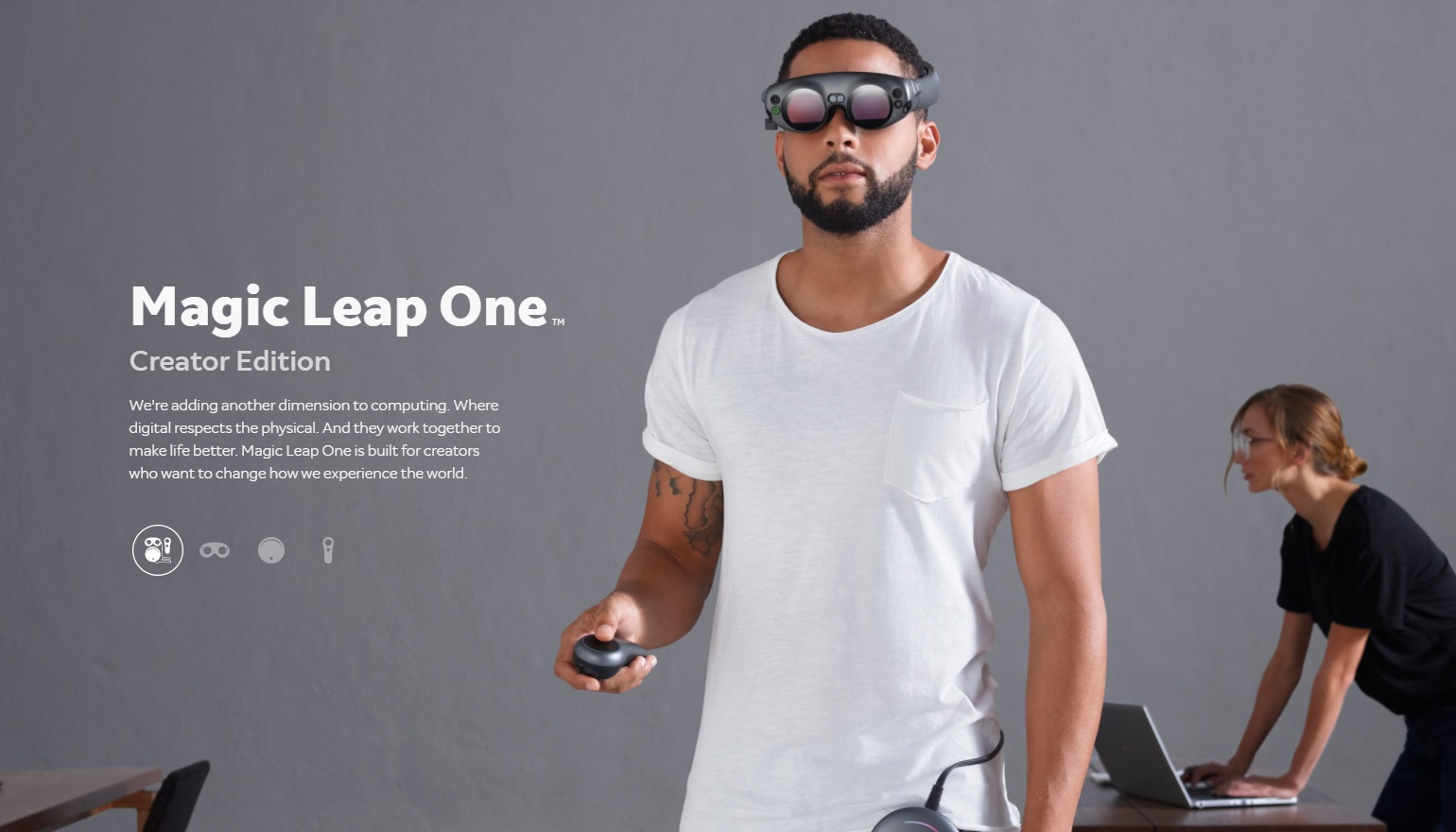 Eerste beelden van de augmentedrealitybril Magic Leap One
