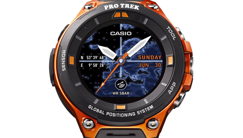 Casio komt met WSD-F20: met GPS en Android Wear 2.0