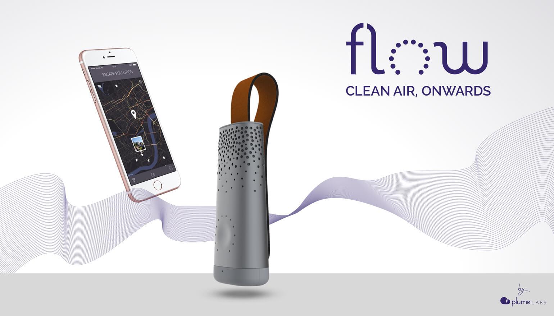 Wearable Flow moet voorkomen dat je vervuilde lucht inademt