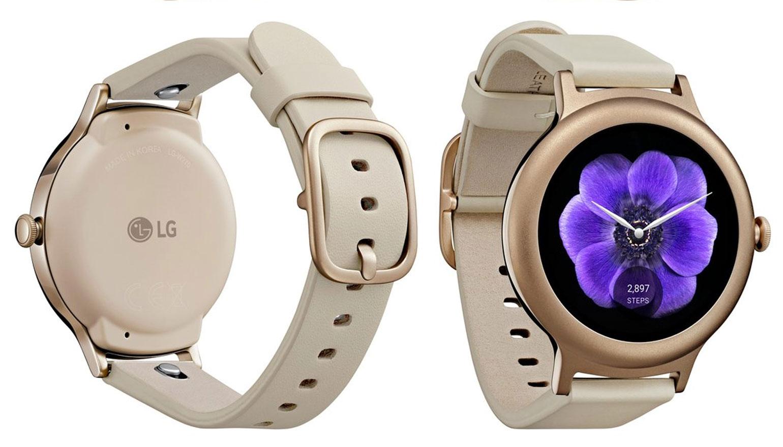 Foto's van doos en handleiding van LG Watch Style online gezet