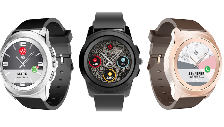 MyKronoz presenteert smartwatch met scherm en echte wijzers