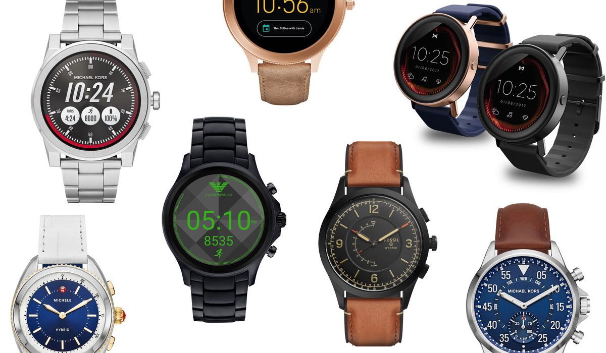 Dit zijn de nieuwe smartwatches van de grote designermerken