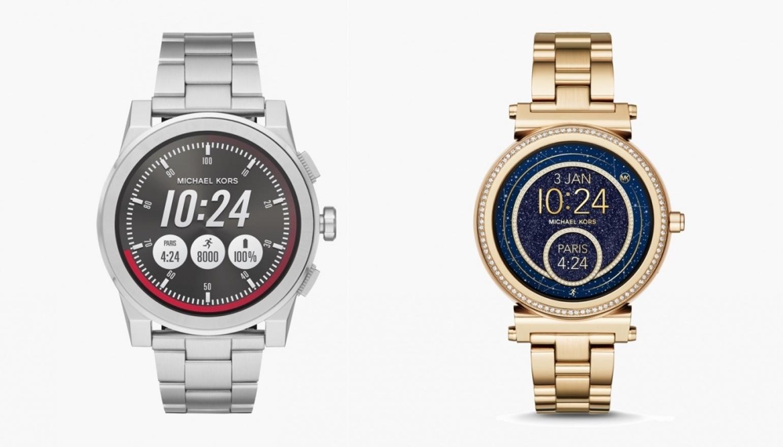 Michael Kors brengt twee Android Wear-horloges en vele hybrides naar de winkels