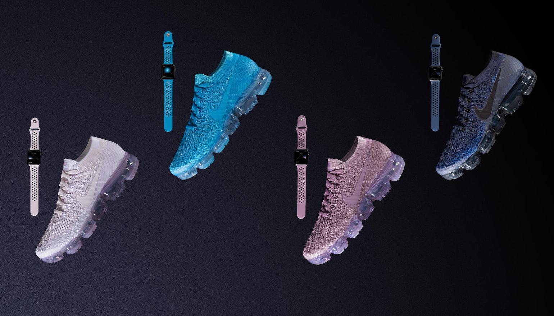 Nike maakt voor Apple Watch Nike+ bandjes die bij je sportschoenen passen