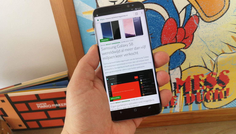 Samsung Galaxy S8 krijgt in de toekomst ondersteuning voor Google Daydream