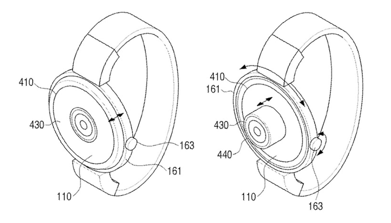 Bizar Samsung-patent toont smartwatch met camera in het midden