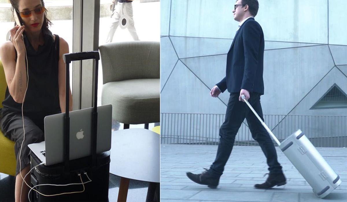 De unieke smart koffer van Samsara is zeer populair op Kickstarter