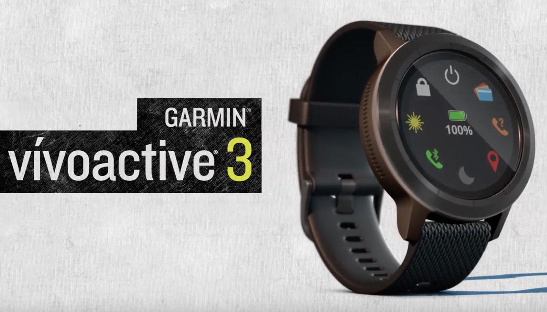 Garmin Vivoactive 3: Android Wear-smartwatch met nfc-chip aan boord