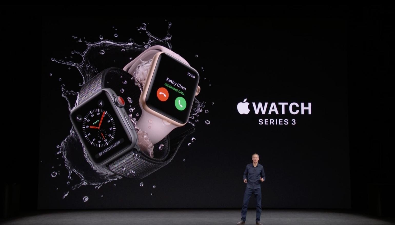 'Apple Watch Series 3 met 4G gaat maandelijks abonnementsgeld kosten'
