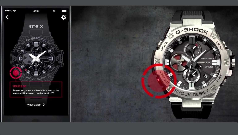 Casio komt met G-Shock horloge met beperkte slimme functies