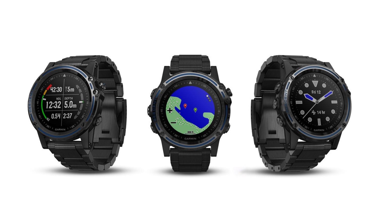 Garmin lanceert een smartwatch voor duikers