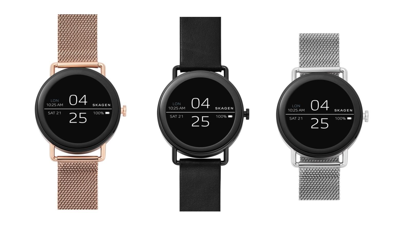 Skagen kondigt Falster Smartwatch met touchscreen aan