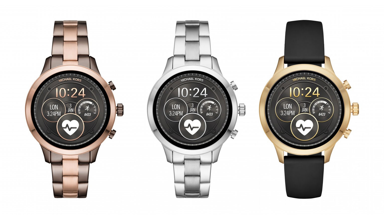 Runway horloge van Michael Kors is er nu als smartwatch