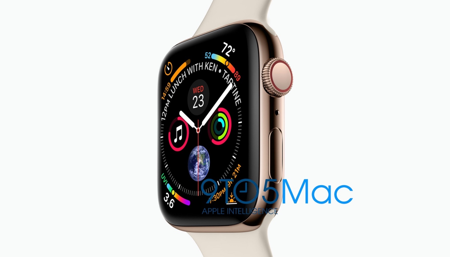 Eerste foto van de Apple Watch Series 4 gelekt