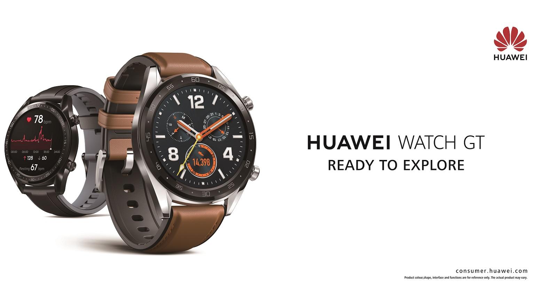 Huawei presenteert Huawei Watch GT Sport en GT Classic