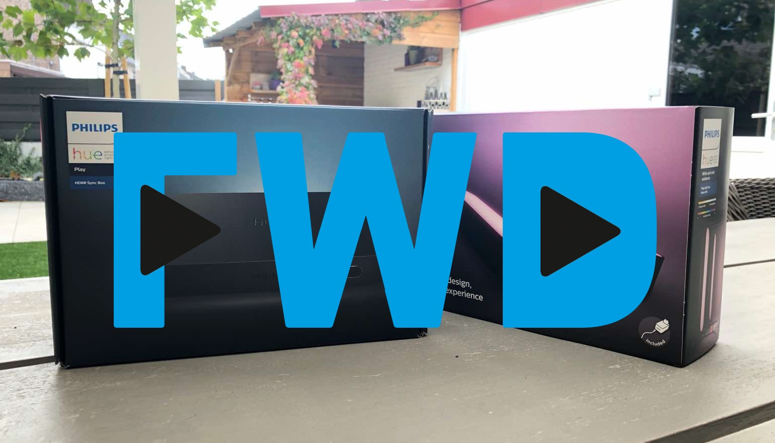 FWD Weekly update: Philips Hue Play HDMI Sync Box en de OnePlus 7T Pro