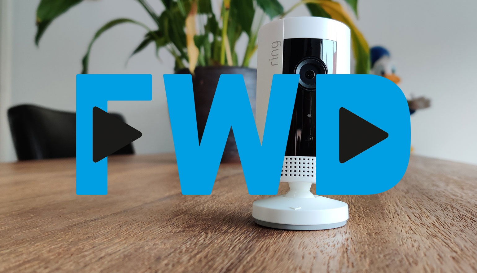 FWD Weekly update: Draagbare projector en de Ring Indoor Cam